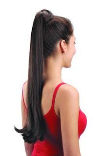 gaya model rambut kuncir kuda