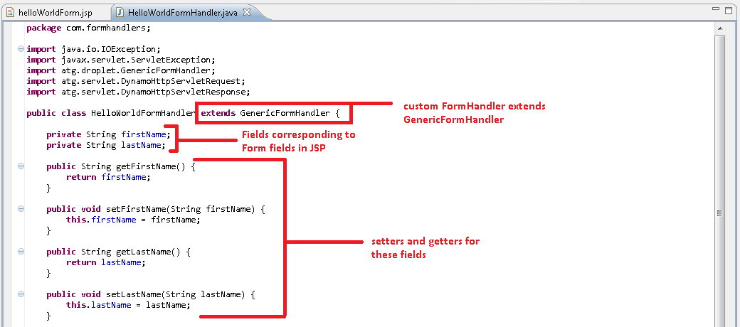 ART#113 - How to use/create formhandlers in ATG? - Oracle ATG ...