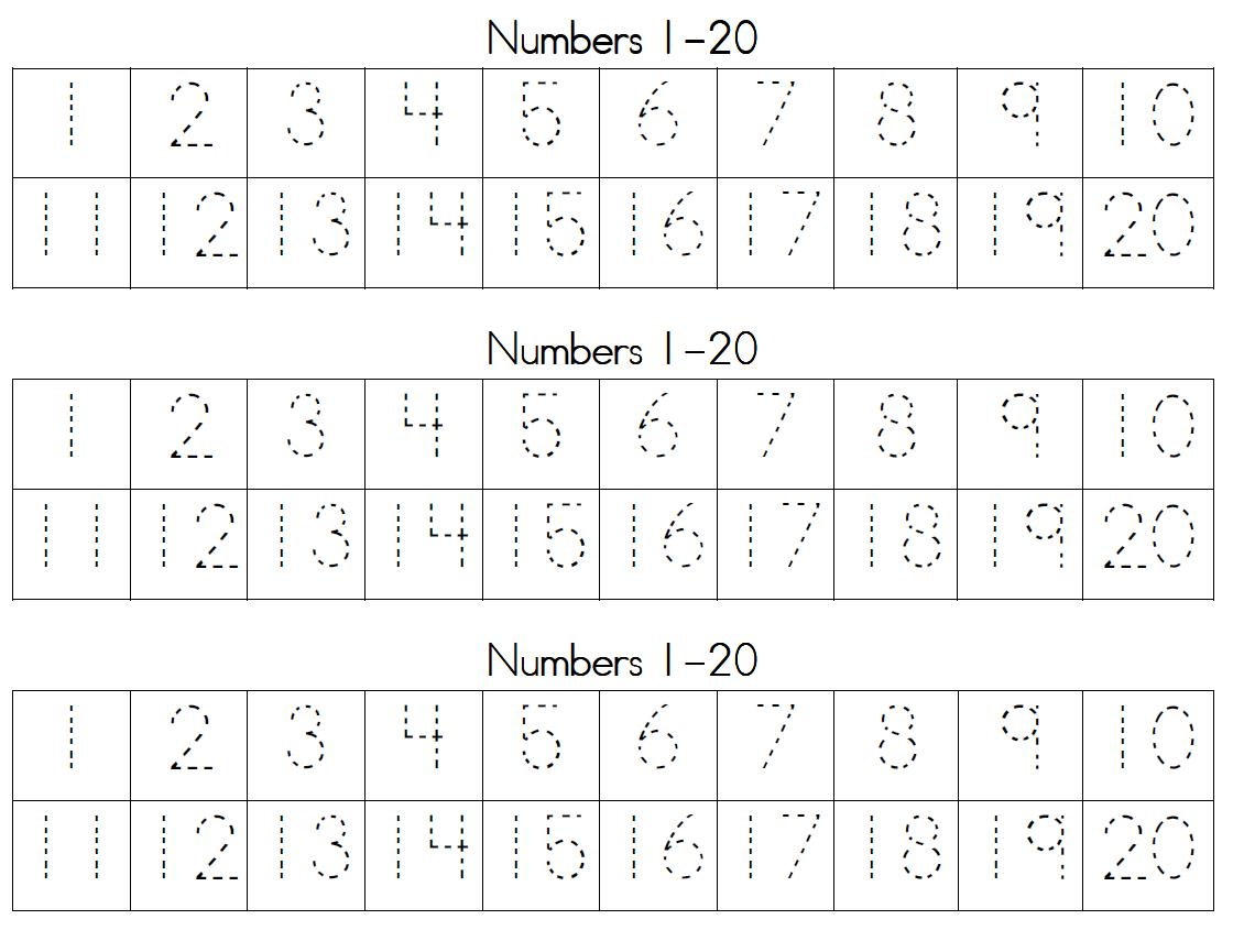 It's just a graphic of Decisive Printable Numbers 1 20