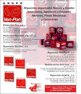 GRUPO VEN-PON, C.A. en Paginas Amarillas tu guia Comercial