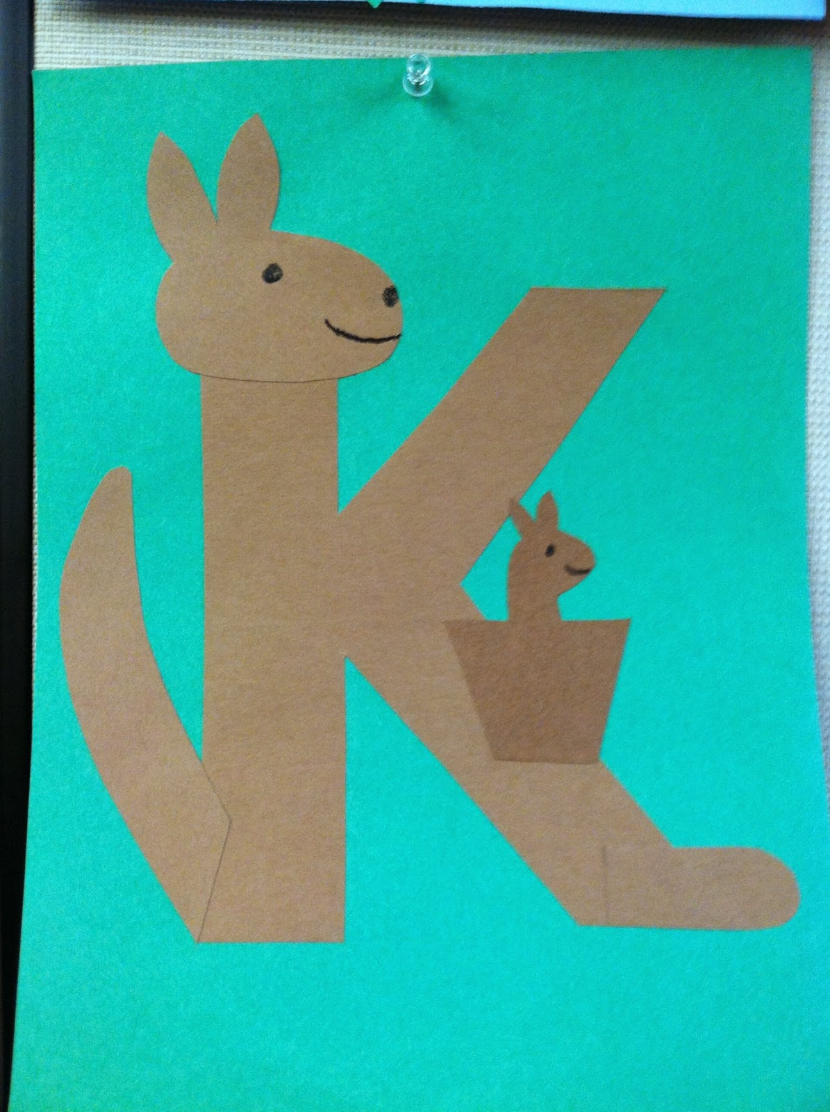 Kangaroo Template, Crafts