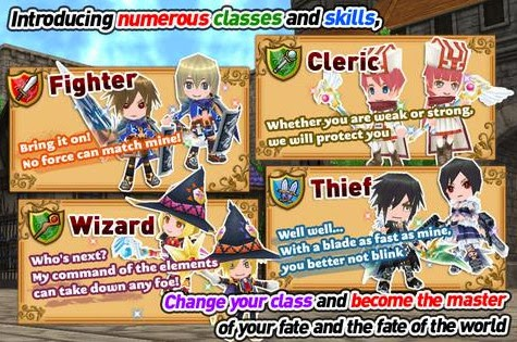 RPG Elemental Knights Platinum screenshot2