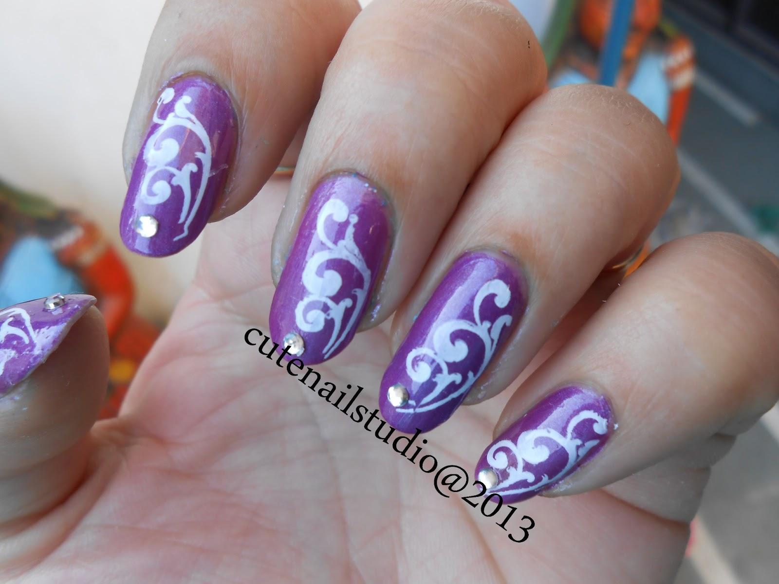 cute nails gals nail art set. Black Bedroom Furniture Sets. Home Design Ideas