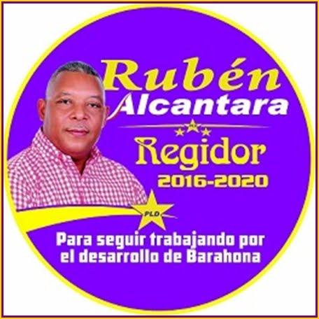 RUBEN ALCANTARA, REGIDOR PLD SANTA CRUZ DE BARAHONA 2016-2020