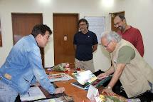 With Rakeysh Omprakash Mehra, Rajabali & Kamlesh Pandey