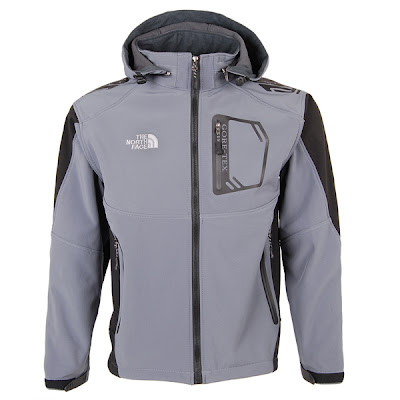 Mens North Face Redpoint Goretex Jackets Gray
