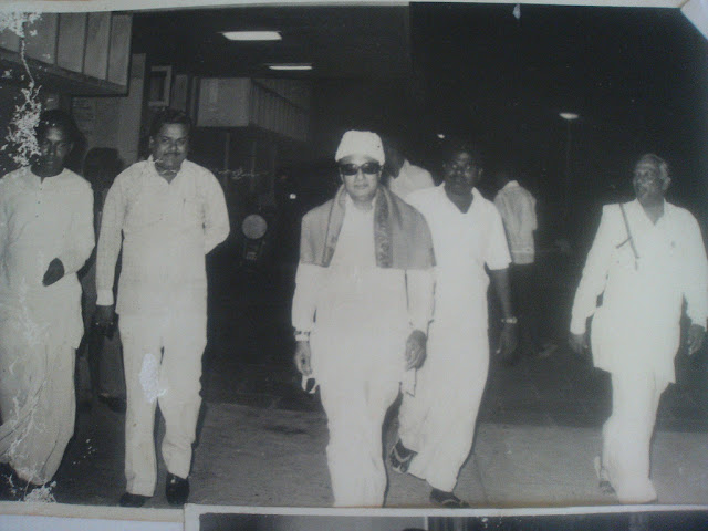 'Makkal Thilagam' MGR with his Ministry People's