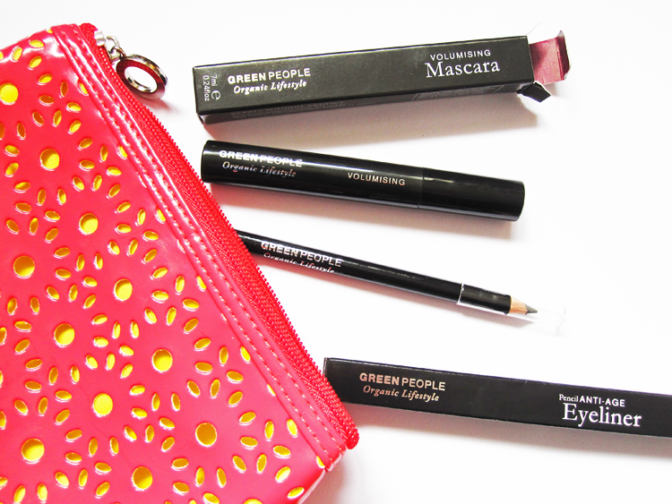 A picture of Green People Volumising Mascara & Anti-Age Eyeliner Pencil - Review