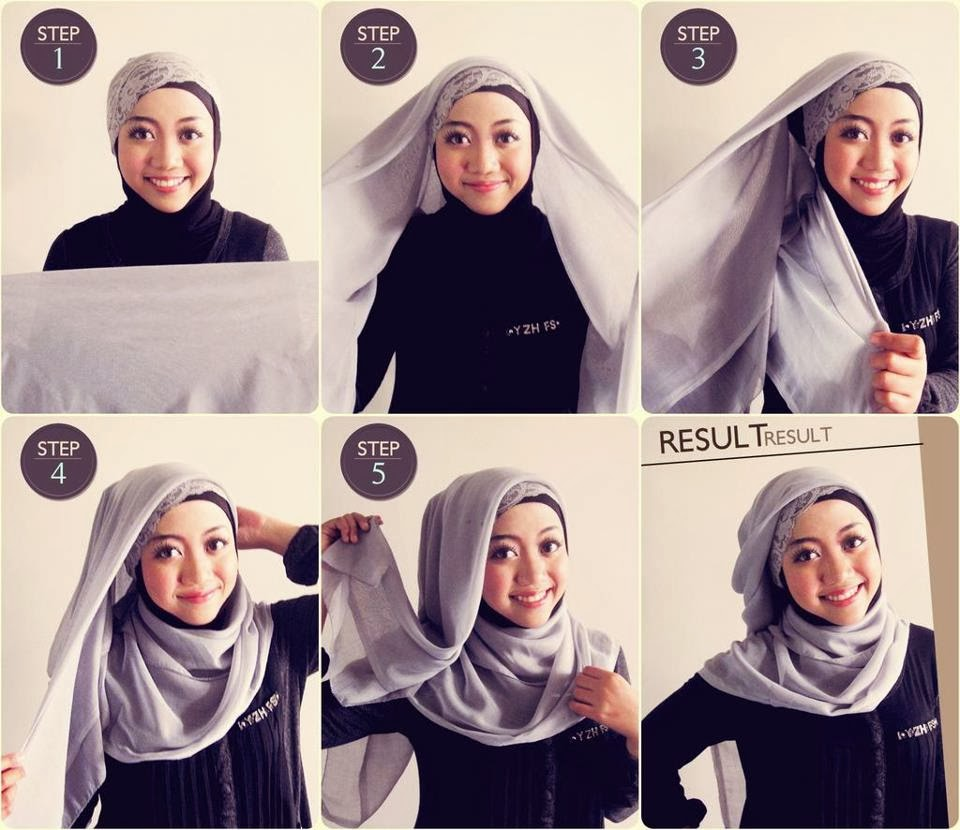 Tutorial Hijab Pashmina Youtube