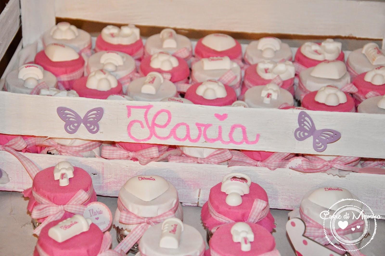 Bien-aimé Cuore di mamma: Un battesimo in bianco e rosa RH76