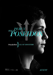 Percy Jackson Sea of Monsters Logan Lerman Poster