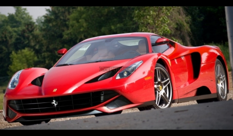 Rendering New Ferrari F70 Enzo Successor