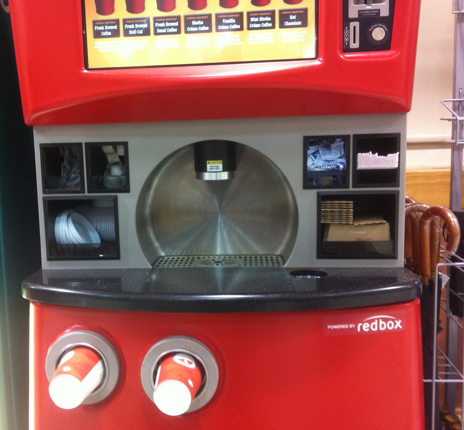your next cup of coffee brewed by redbox � geekwire