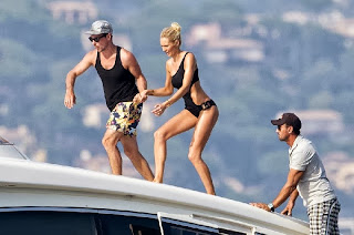 Candice Swanepoel Victoria's Secret Bikini Photo Shoot In Saint Tropez