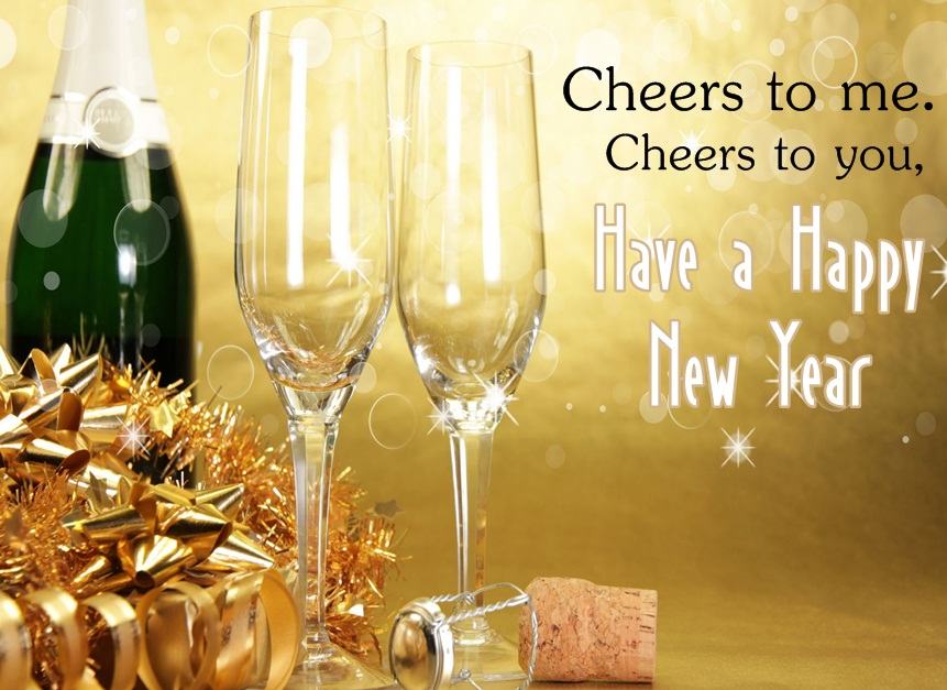 Happy New Year Cheers  Image