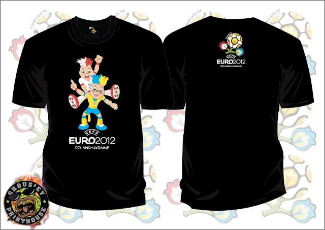 T SHIRT EURO 2012 - Mascot