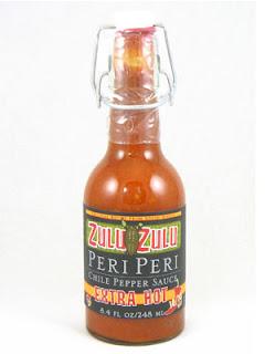 Zulu Zulu Extra Hot Peri Peri Hot Sauce