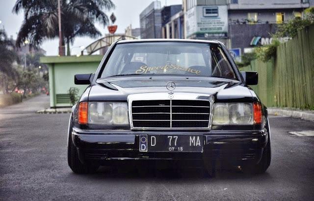w124 lowride