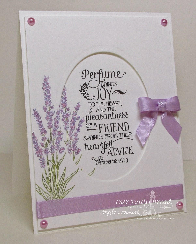 ODBD Lavender, Card Designer Angie Crockett