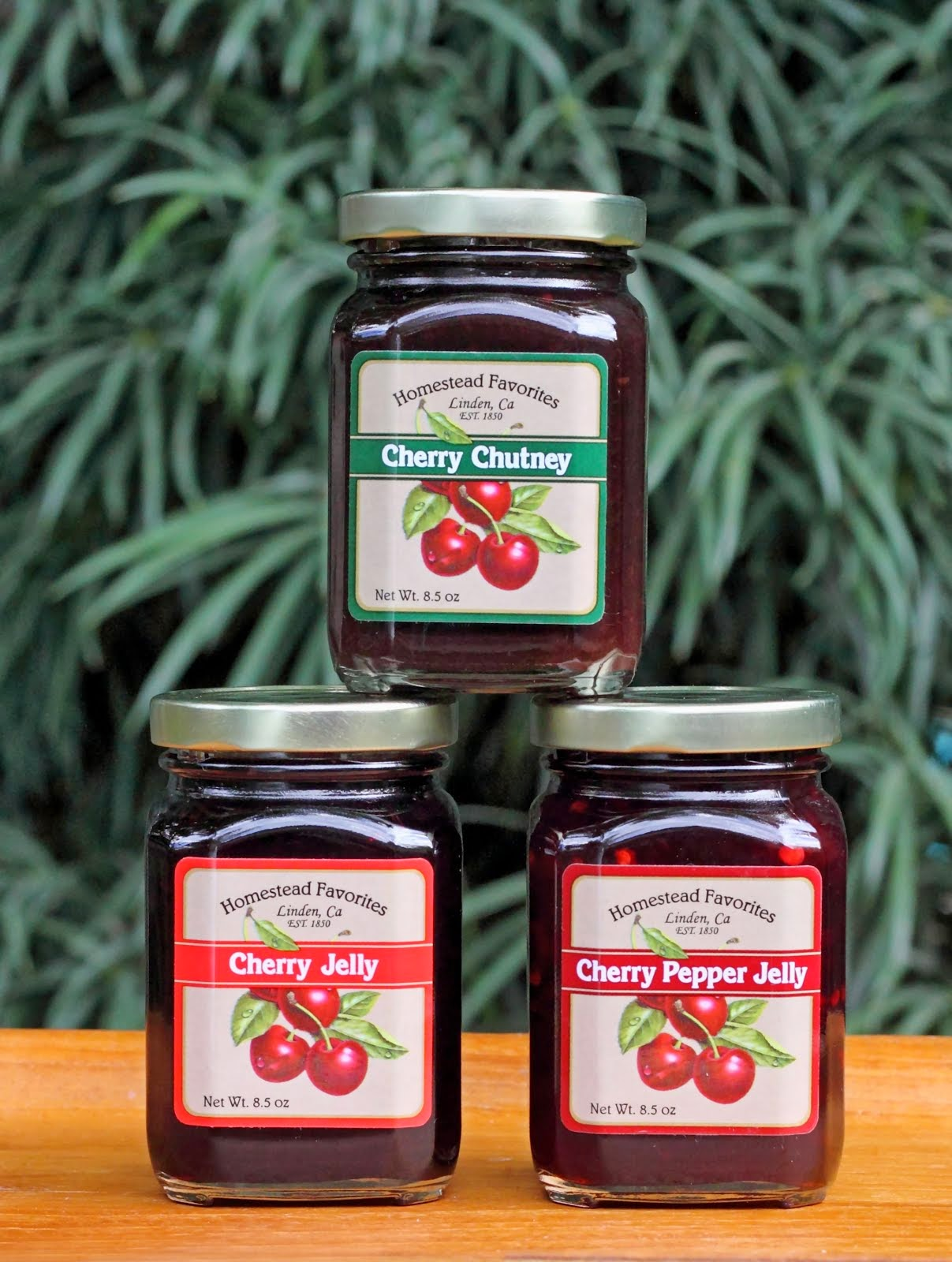 Homestead Favorites Cherry Products