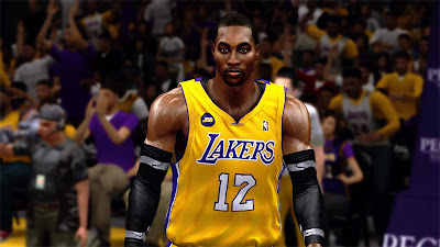 NBA 2K13 Dwight Howard Cyberface Mod