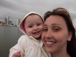 Kelly e Julia Acsa de Oliveira