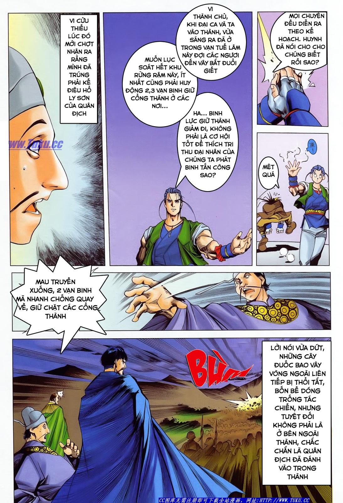 Lục Đạo Thiên Thư chap 36 - Trang 15