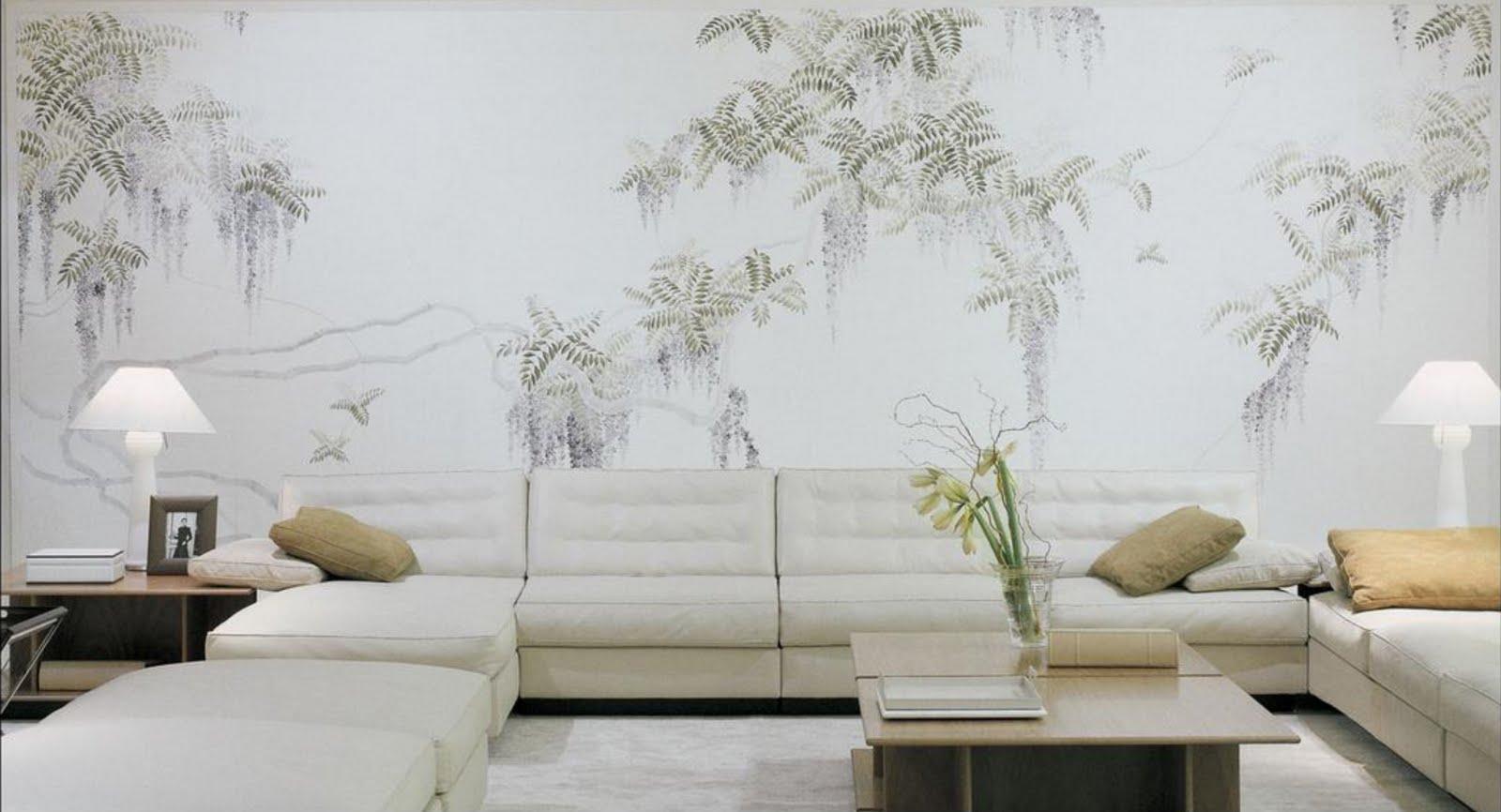 papel de parede decoracao de interiores:ÀS DUAS POR TRÊS, ARQ. DE INTERIORES E DECORAÇÃO: Papel de parede