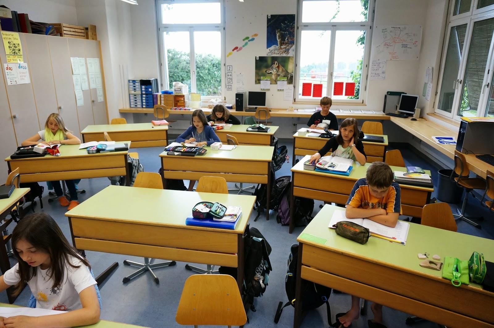 Sommerlager 5 6 Klasse Die Letzten Stunden Im Schulzimmer