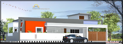 137 Square Meter (1480 Sq. Ft)Single Floor House Plan - September 2011
