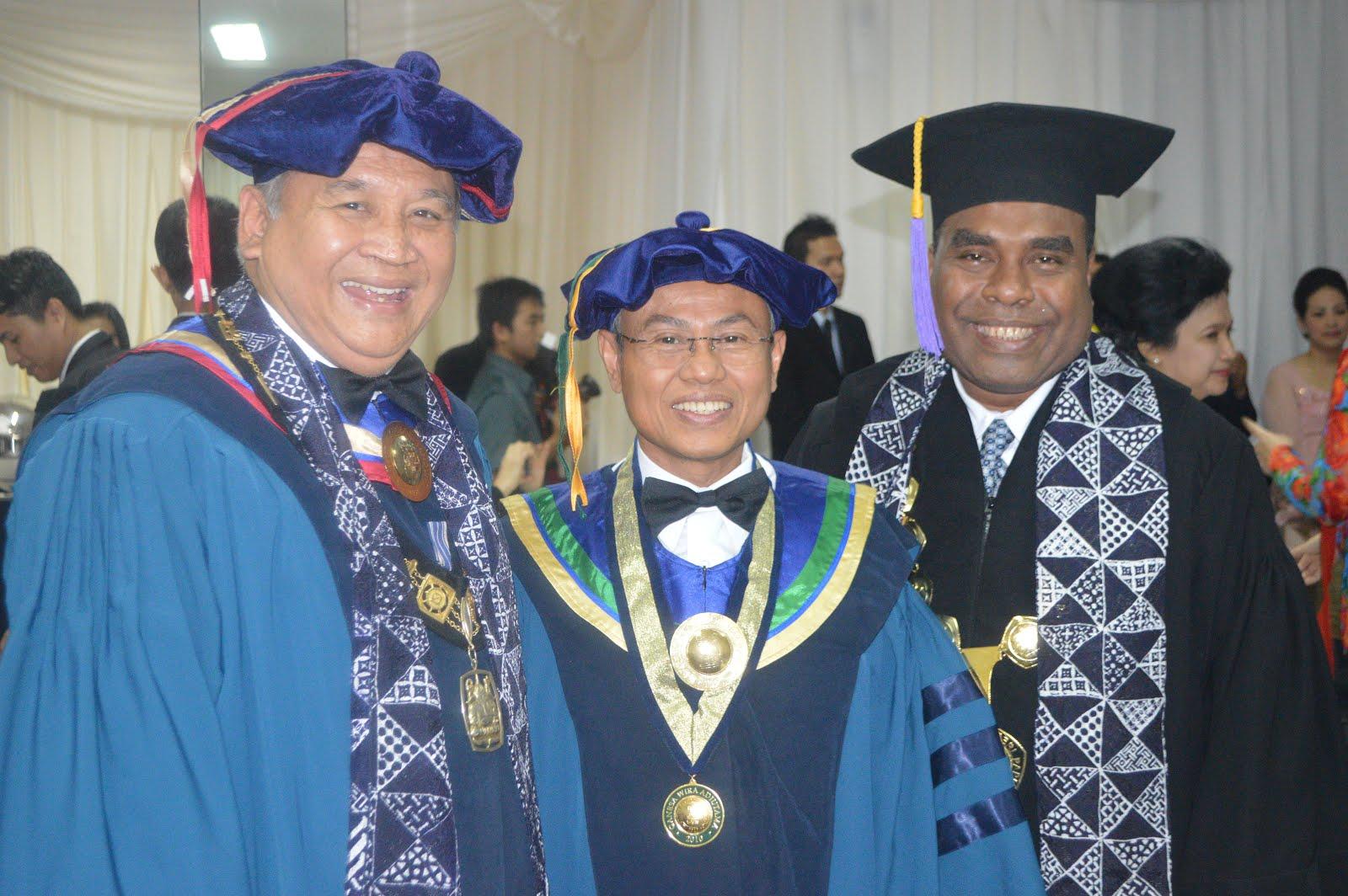 Dengan Dirjen Dikti dan Rektor ITB