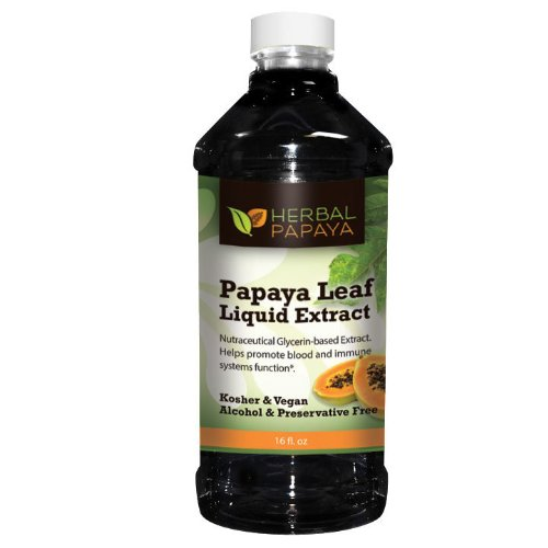 Extracto Líquido de Hoja de Papaya por Herbal Papaya