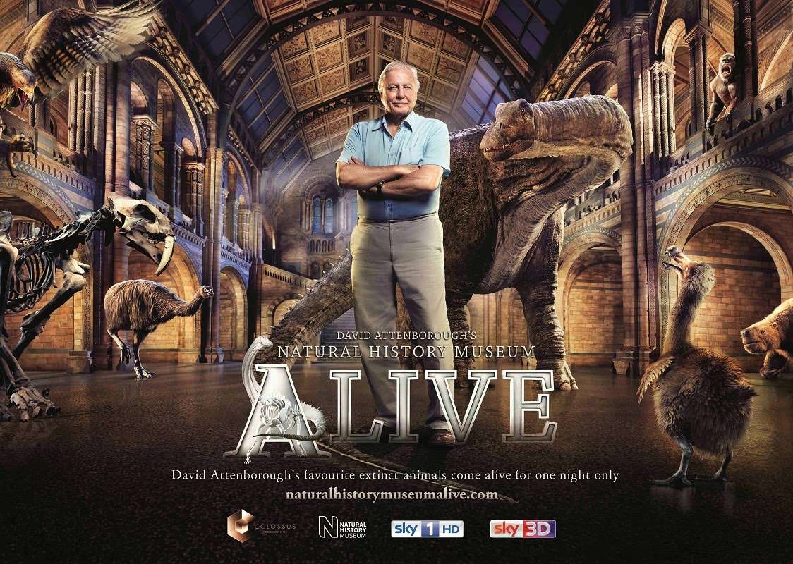 David Attenborough's Natural History Museum Alive (2014) BluRay 720p