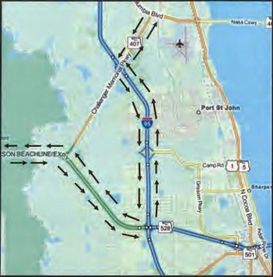 FDOT Detour Map