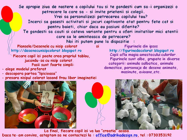 pictura figurine ipsos, figurine ipsos pentru pictat/colorat, 1 Iunie, Ziua Copilului.