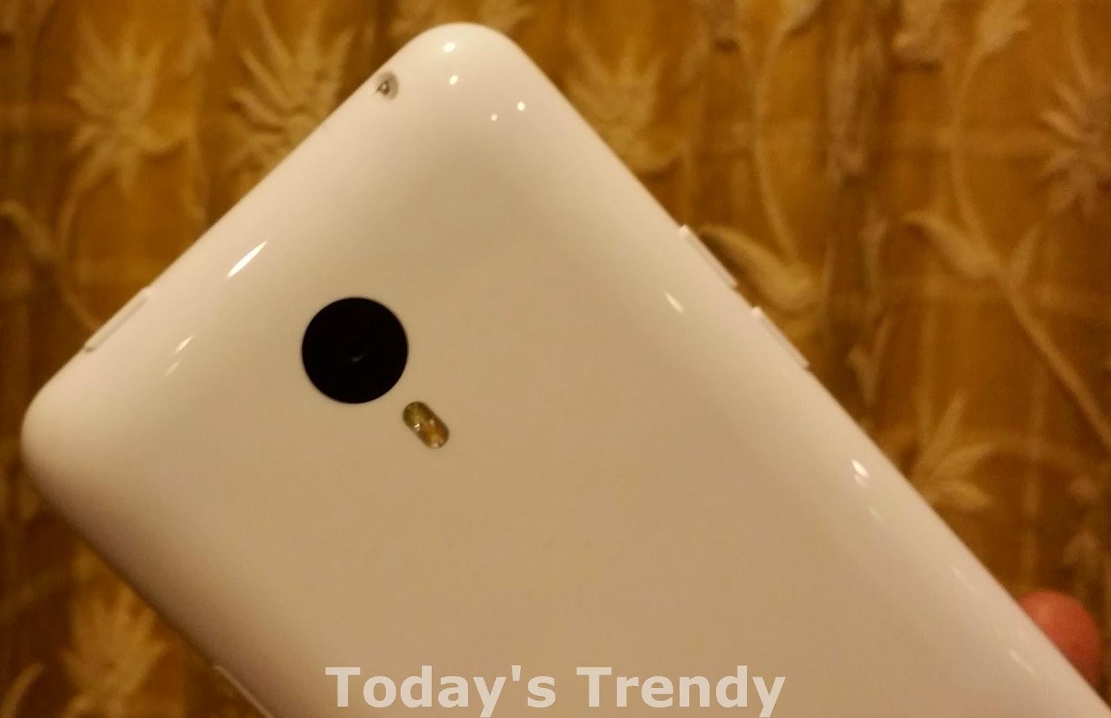 Meizu M1 Note primary camera