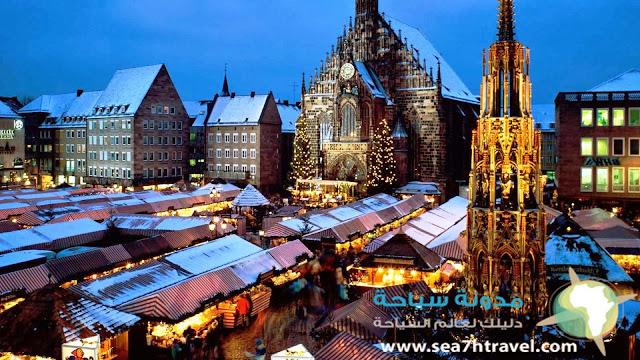 السياحة في مدينة نونبيرغ الألمانية