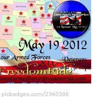 freedom ride 2012