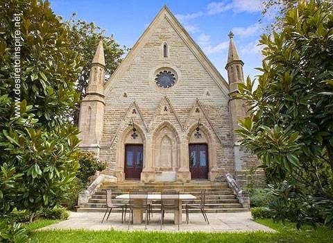 Iglesia reciclada como residencia