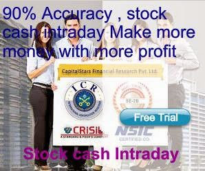 Stock Cash Intraday