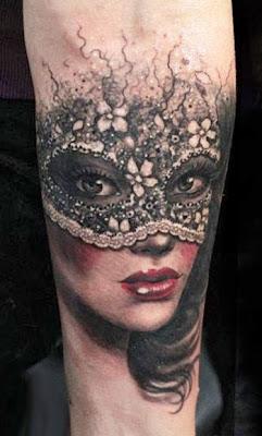 Tatuagem de Máscara