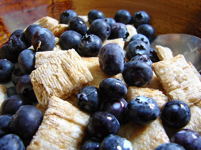 Blueberry cereal