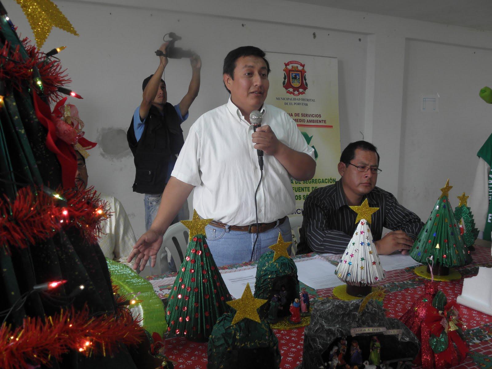 Opini n pe arboles de navidad con material reciclado - Trabajos manuales navidenos ...