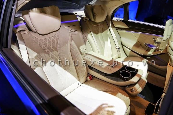 Cho thuê xe cưới VIP Mercedes S500 L 2014 đẳng cấp siêu VIP 4
