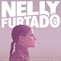 Nelly Furtado - The spirit indestructible (Regular edition) | Album art