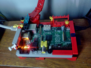 Raspberry Pi lego server