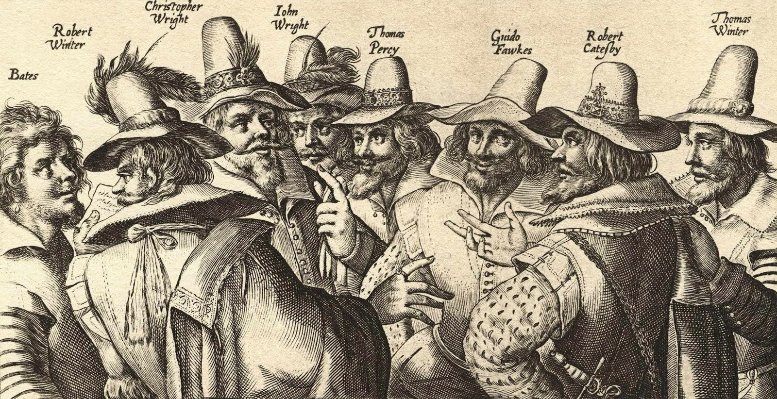 gunpowder guys This section explains the guy fawkes connection to the story it was wintour who invited fawkes into the circle of men that initially comprised the gunpowder plot.