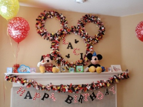Fiesta Infantiles de Mickey Mouse Clubhouse - Party Ideas