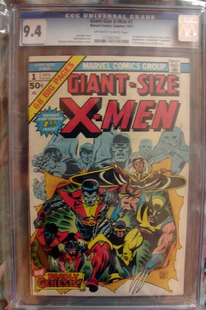 Giant Size X-Men #1 CGC 9.4 comic image