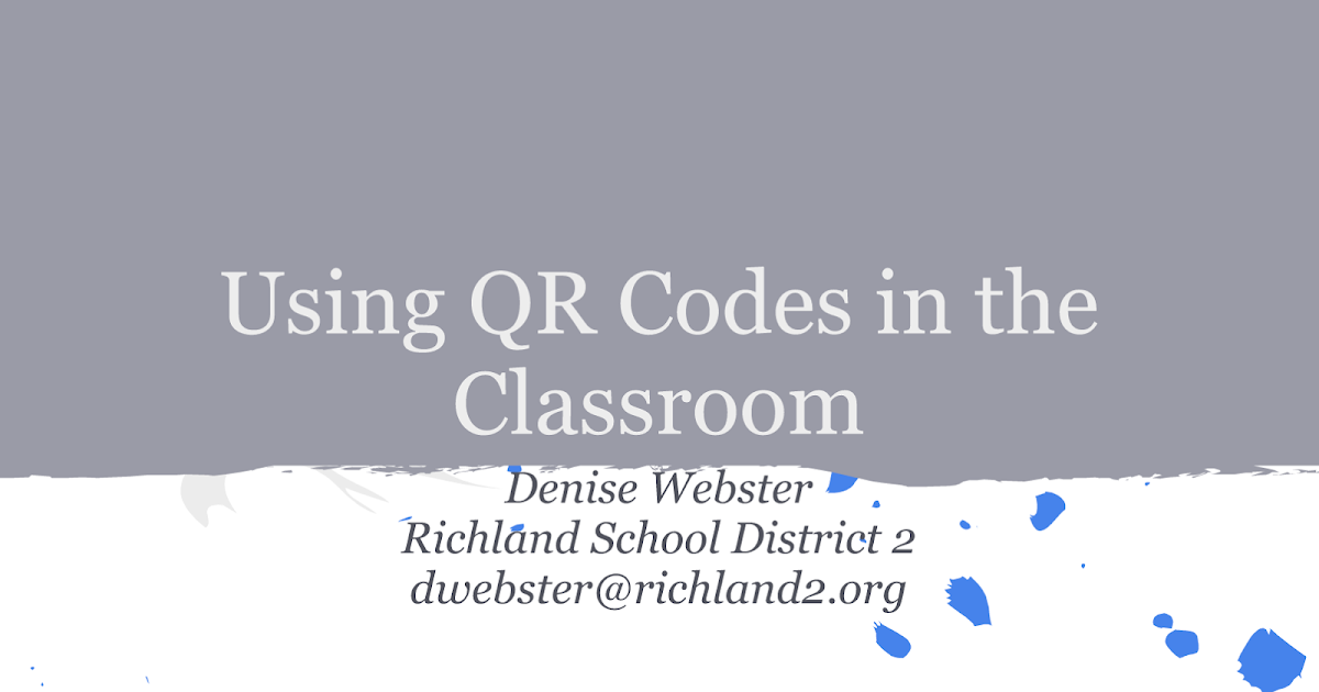 QR Codes in The Classroom- Awesome Guide for Teachers